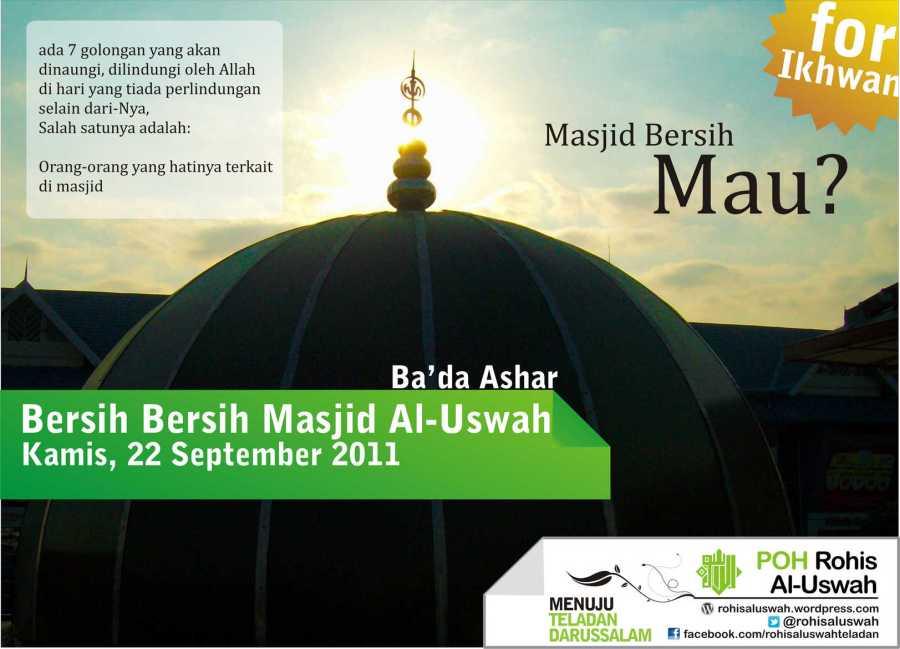 Poster BBM Al-Uswah