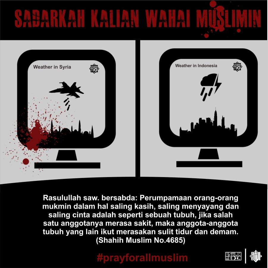 Sadarkah kalian wahai muslimin1darah